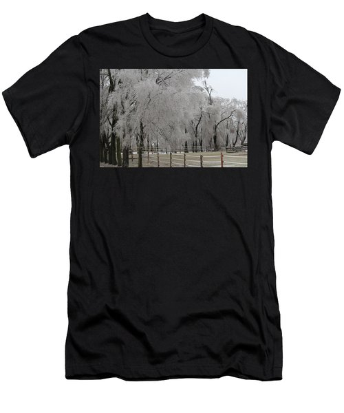 Ice Trees Men's T-Shirt (Athletic Fit)