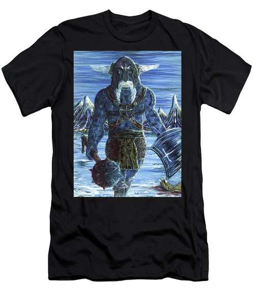 Ice Viking Men's T-Shirt (Athletic Fit)