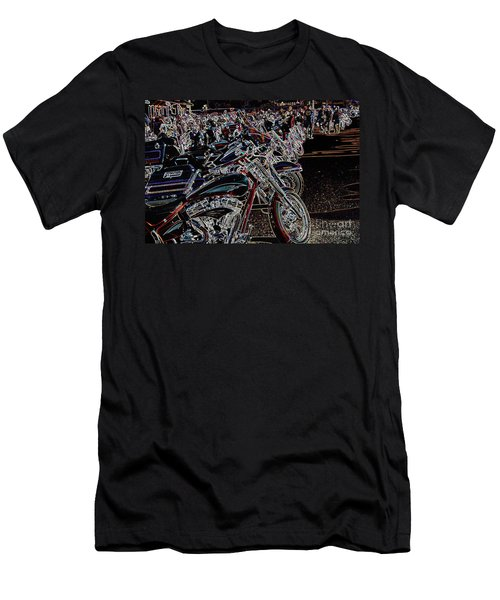Iced Out Bikes Men's T-Shirt (Athletic Fit)