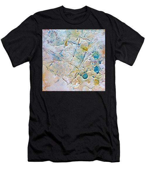 Iced Texture I Men's T-Shirt (Athletic Fit)