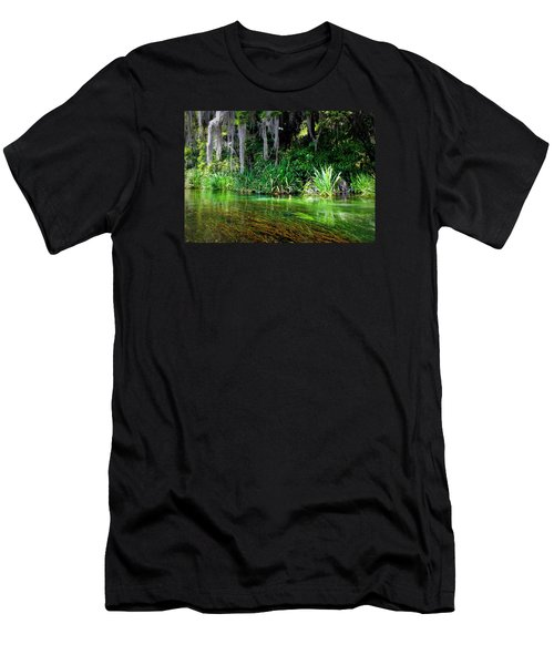 Ichetucknee Springs 1a Men's T-Shirt (Athletic Fit)
