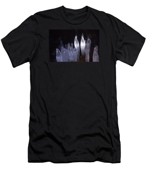 Icicles In A Cave Men's T-Shirt (Athletic Fit)