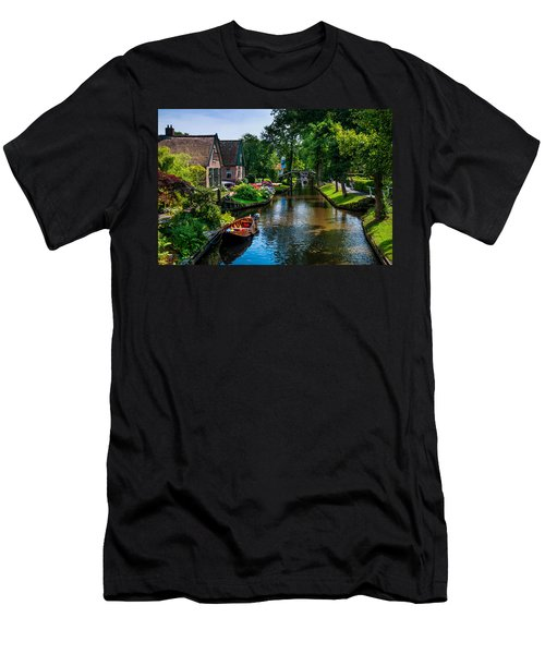 Idyllic Village 15. Venice Of The North Men's T-Shirt (Athletic Fit)
