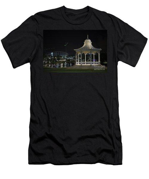 Illuminated Elegance Men's T-Shirt (Athletic Fit)