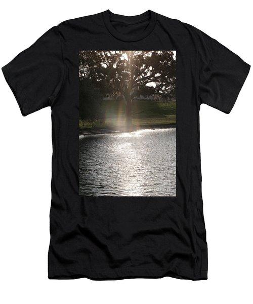 Illuminated Tree Men's T-Shirt (Athletic Fit)