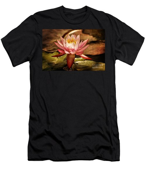 Illusory Lily Men's T-Shirt (Athletic Fit)