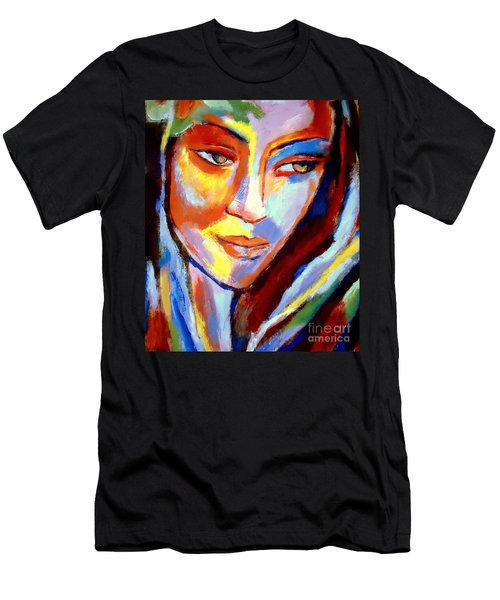 Men's T-Shirt (Slim Fit) featuring the painting Immersed by Helena Wierzbicki