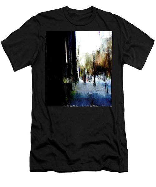 Men's T-Shirt (Slim Fit) featuring the mixed media Impending Gloom by Terence Morrissey