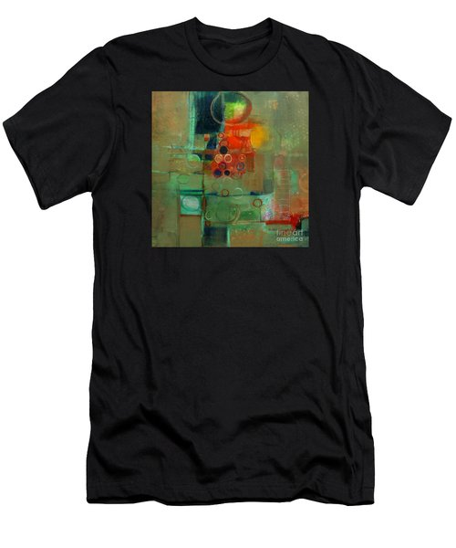 Men's T-Shirt (Athletic Fit) featuring the painting Improvisation by Michelle Abrams