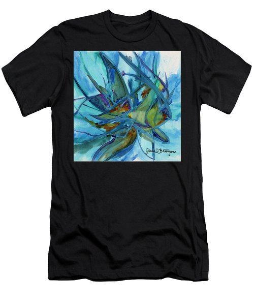 In A Fishbowl Men's T-Shirt (Athletic Fit)