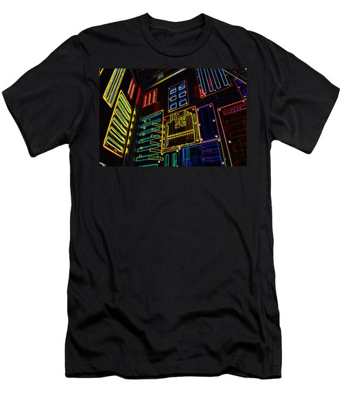 In A Neon-box Men's T-Shirt (Athletic Fit)