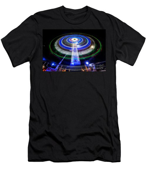 In A Spin Men's T-Shirt (Athletic Fit)