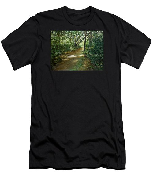 In And Out Of The Shadows Men's T-Shirt (Athletic Fit)