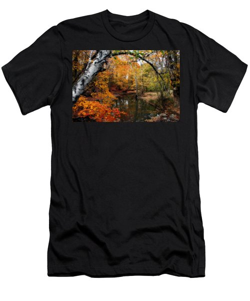 In Dreams Of Autumn Men's T-Shirt (Athletic Fit)
