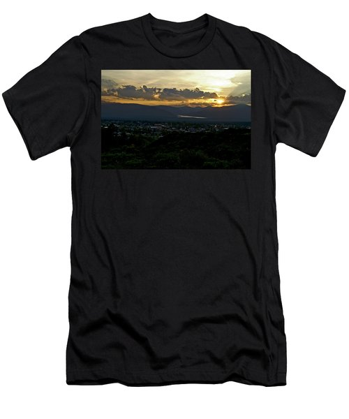 Men's T-Shirt (Slim Fit) featuring the photograph In My Place by Jeremy Rhoades