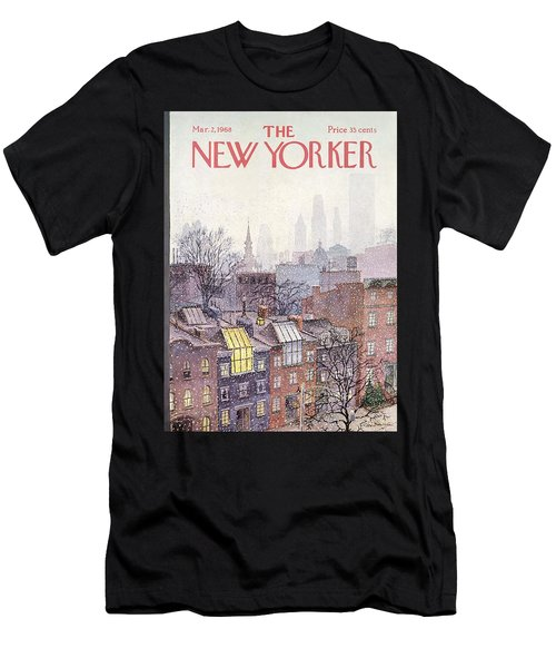 New Yorker March 2, 1968 Men's T-Shirt (Athletic Fit)
