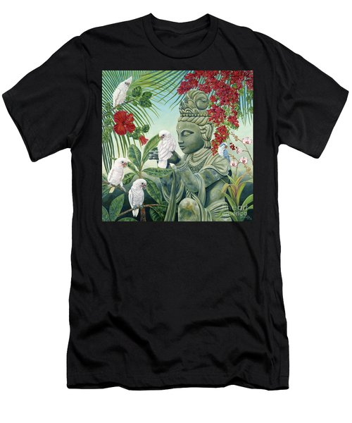 In The Company Of Angels Men's T-Shirt (Athletic Fit)
