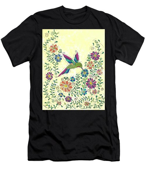 In The Garden - Hummer Men's T-Shirt (Athletic Fit)