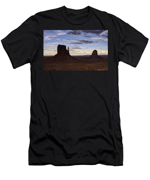 In The Shadows Of Monument Valley  Men's T-Shirt (Athletic Fit)