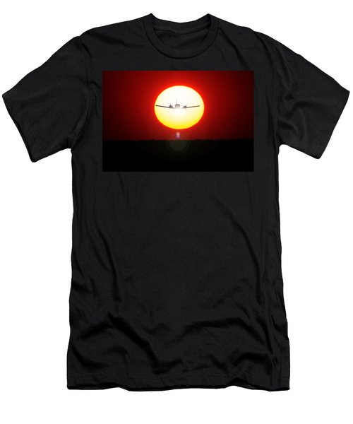 Men's T-Shirt (Athletic Fit) featuring the photograph In The Sun by Paul Job