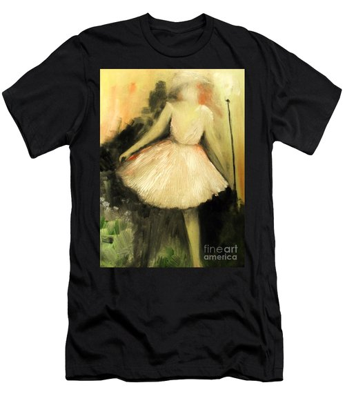 Men's T-Shirt (Athletic Fit) featuring the painting In Vogue Paris by Laurie Lundquist
