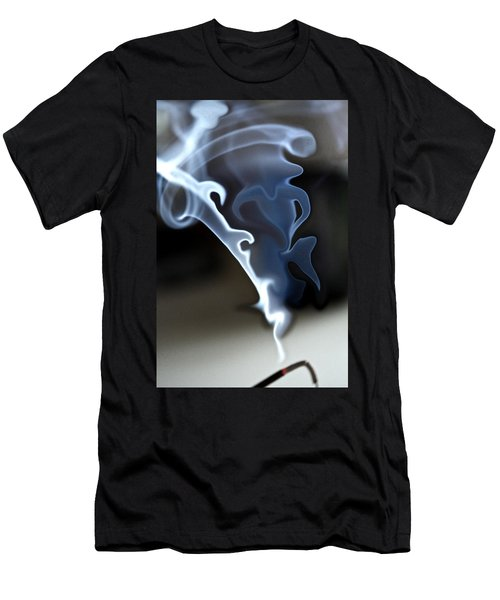 Incense Smoke Dance - Smoke - Dance Men's T-Shirt (Athletic Fit)
