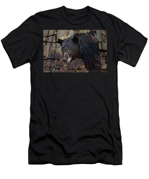 Inconspicuous Bear Men's T-Shirt (Athletic Fit)