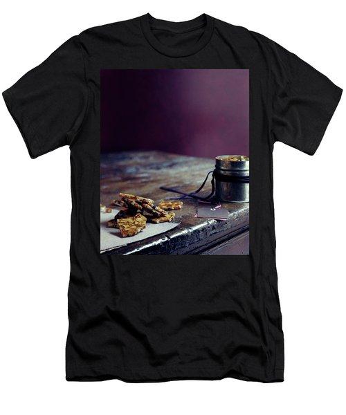 Indian Brittle Men's T-Shirt (Athletic Fit)