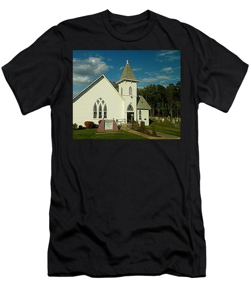 Indian Mission United Methodist Church Harbeson Delaware Men's T-Shirt (Athletic Fit)