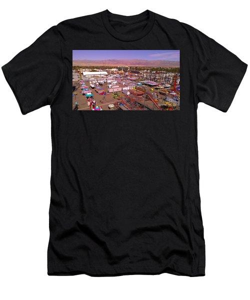Indio Fair Grounds Men's T-Shirt (Athletic Fit)
