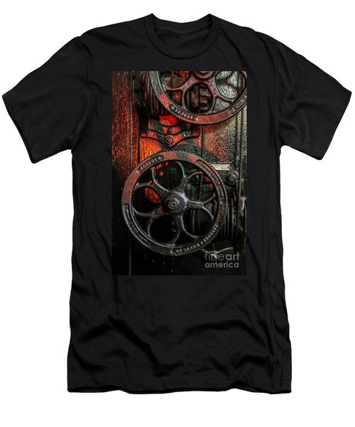 Industrial Wheels Men's T-Shirt (Athletic Fit)