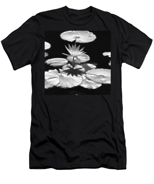 Infrared - Water Lily 02 Men's T-Shirt (Athletic Fit)