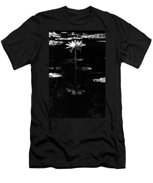 Infrared - Water Lily 03 Men's T-Shirt (Athletic Fit)