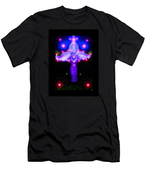 Inner Galactic Symphonics Men's T-Shirt (Slim Fit) by Susanne Still