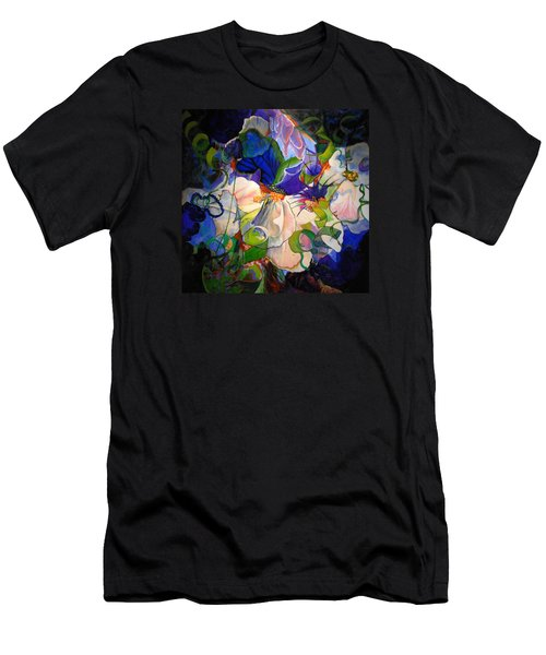 Men's T-Shirt (Slim Fit) featuring the painting Inner Light by Georg Douglas