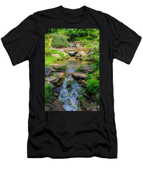 Inniswood Metro Park Photo Men's T-Shirt (Athletic Fit)