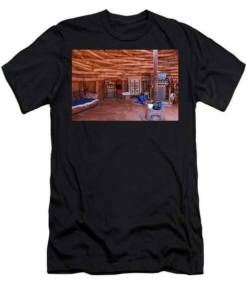 Inside A Navajo Home Men's T-Shirt (Athletic Fit)