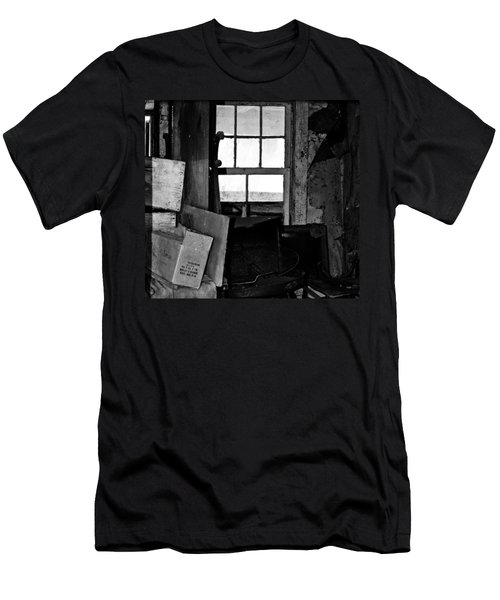 Inside Abandonment 2 Men's T-Shirt (Slim Fit) by Tara Lynn