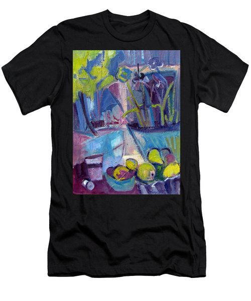Inside And Outside Abstract Expressionism Men's T-Shirt (Athletic Fit)