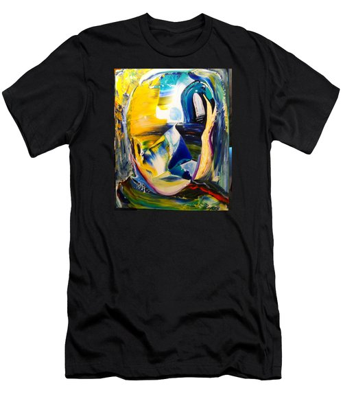 Insightful To The Center Men's T-Shirt (Slim Fit) by Kicking Bear  Productions