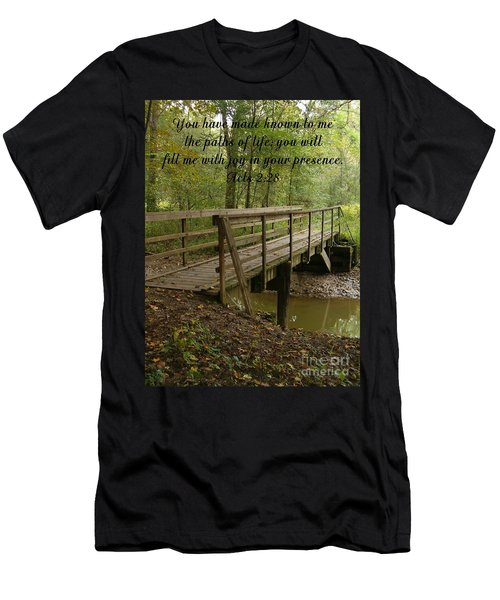 Inspirations 4 Men's T-Shirt (Slim Fit) by Sara  Raber