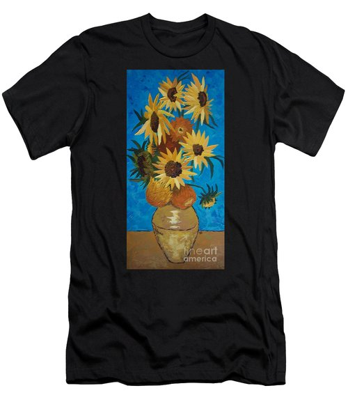 Inspired By Van Gogh Men's T-Shirt (Athletic Fit)