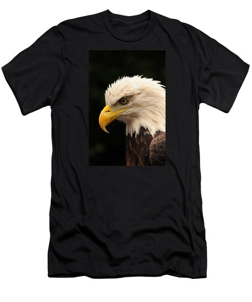 Men's T-Shirt (Slim Fit) featuring the photograph Intense Stare by Mike Martin