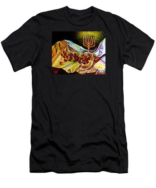 Intercession Men's T-Shirt (Slim Fit) by Nancy Cupp