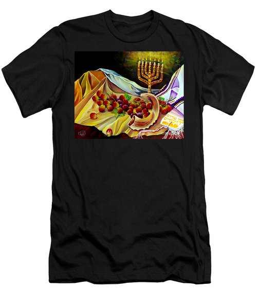 Men's T-Shirt (Athletic Fit) featuring the painting Intercession by Nancy Cupp