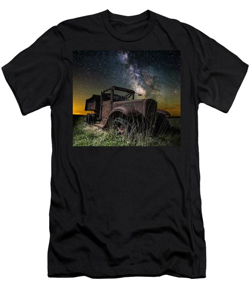 International Milky Way Men's T-Shirt (Athletic Fit)