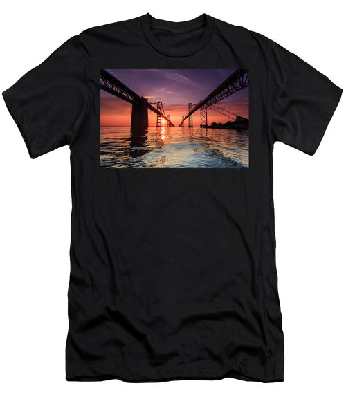 Into Sunrise - Bay Bridge Men's T-Shirt (Athletic Fit)