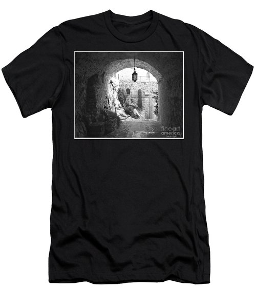 Into The Light Men's T-Shirt (Slim Fit) by Victoria Harrington