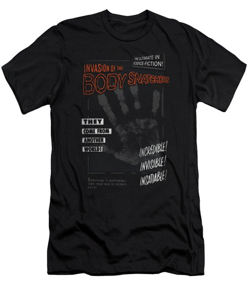 Invasion Of The Body Snatcher - Run Poster Men's T-Shirt (Athletic Fit)