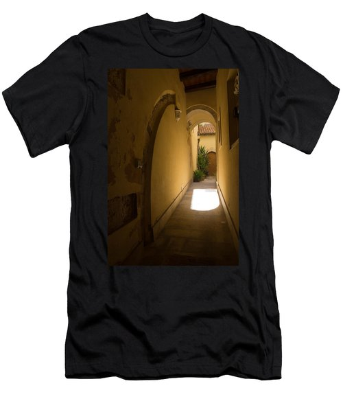 Men's T-Shirt (Slim Fit) featuring the photograph Invitation by Georgia Mizuleva